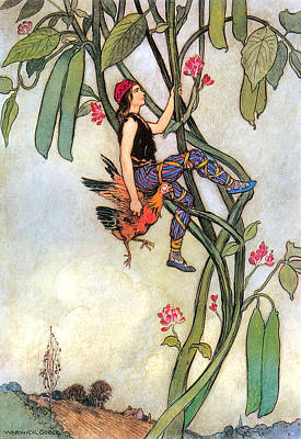 The Fairy Book Art Print by Warwick Goble