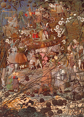 The Fairy Feller's Master Stroke Art Print by Mountain Dreams