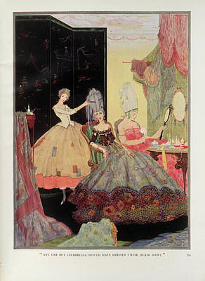 Cinderella Photograph - The Fairy Tales Of Charles Perrault by British Library