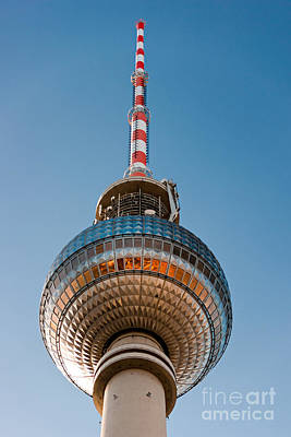 The Fernsehturm - Berlin Art Print