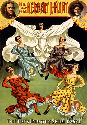 The Flints, American Hypnotists Art Print