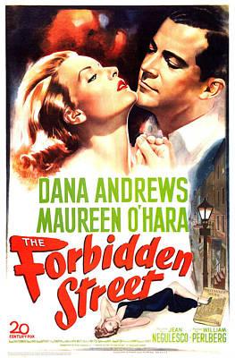 The Forbidden Street, Aka Britannia Art Print by Everett