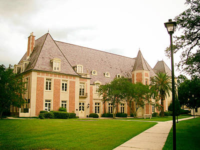 Louisiana State University Photograph - The French House On The Campus Of Lsu by Mountain Dreams