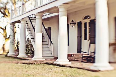 The Front Porch Art Print by Scott Pellegrin