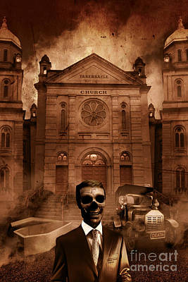Digital Art - The Funeral Director by Jorgo Photography - Wall Art Gallery