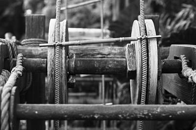 Photograph - The Gears by Nicholas Evans