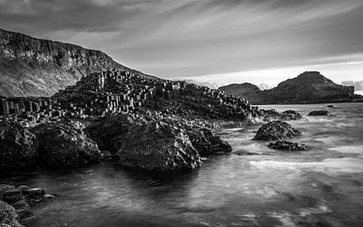 Photograph - The Giant's Causeway by George Pennock