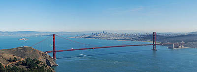 Sausalito Photograph - The Golden Gate Bridge by Twenty Two North Photography