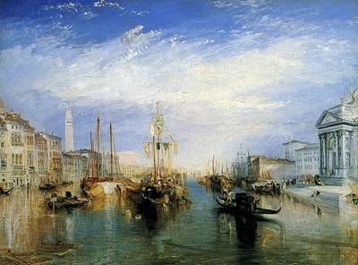London Painting - The Grand Canal by JMW Turner