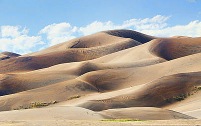 Photograph - The Great Sand Dunes National Park 4 by Allen Beatty