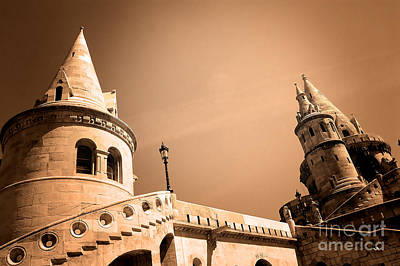 Fishermen Photograph - The Great Tower Of Fishermen's Bastion by Michal Bednarek