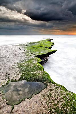 The Green Path Art Print by Jorge Maia