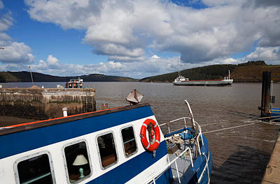 Fishing Harbour Photograph - The Harbour And Fishing Boats, Passage by Panoramic Images