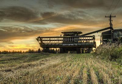 The Harvest Time Art Print