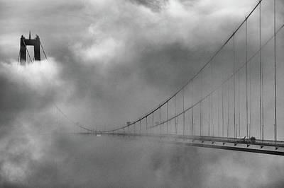 Coast Wall Art - Photograph - The High Coast Bridge by Joakim Orrvik