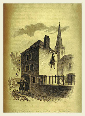 The History Of Jack Sheppard Print by Litz Collection