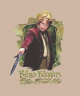 Tolkien Digital Art - The Hobbit - Bilbo Baggins by Brand A
