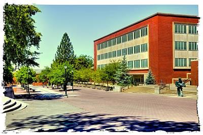 Photograph - The Holland Library - Washington State University by David Patterson