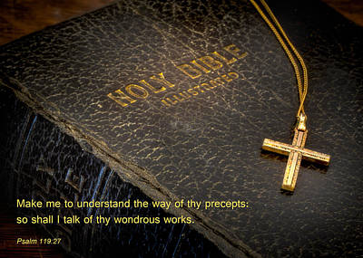 Photograph - The Holy Bible by David and Carol Kelly