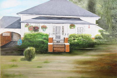 Painting - The Homeplace by Christine McMillan