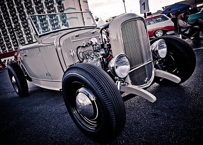 Photograph - The Hot Rod by Merrick Imagery