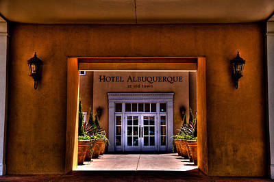 Photograph - The Hotel Albuquerque by David Patterson