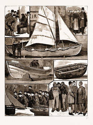 The International Fisheries Exhibition At South Kensington Print by Litz Collection