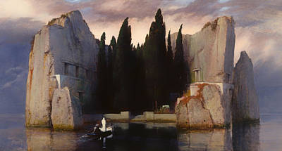 Burial Grounds Painting - The Isle Of The Dead by Mountain Dreams
