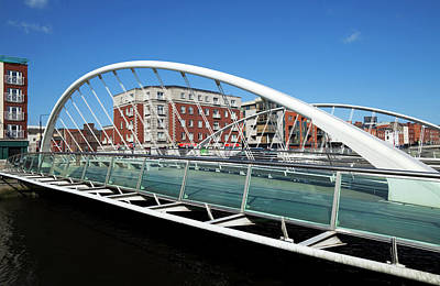 The James Joyce Bridge Across The River Art Print