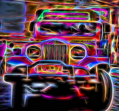the Jeepney Art Print