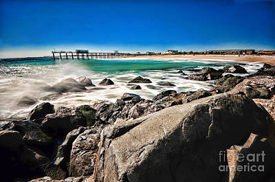 Beach Landscape Photograph - The Jersey Shore by Paul Ward