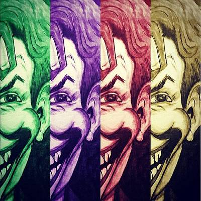 Comics Wall Art - Photograph - The Joker by Vickie Scarlett-Fisher