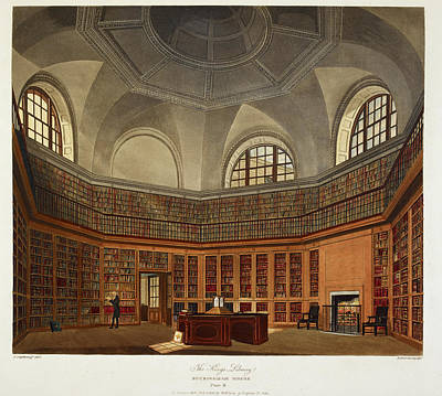 The King's Library Buckingham House Art Print by British Library