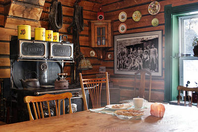 Inn Photograph - The Kitchen by Juli Scalzi
