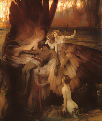 Sympathy Painting - The Lament For Icarus by Mountain Dreams