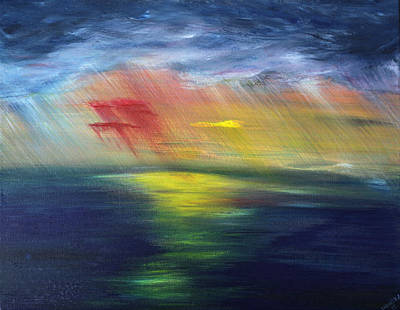 Painting - The Land Always Remembers by Stacey Austin