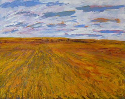 Painting - The Land Gives by Helen Campbell