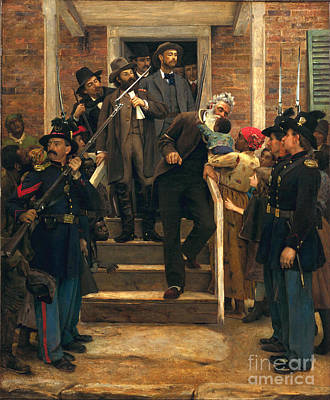 Anti-slavery Painting - The Last Moments Of John Brown by Pg Reproductions
