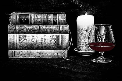 Anne Rice Photograph - The Last Sip by Jacque The Muse Photography