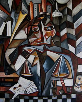 The Lawyer Original by Karen Serfinski