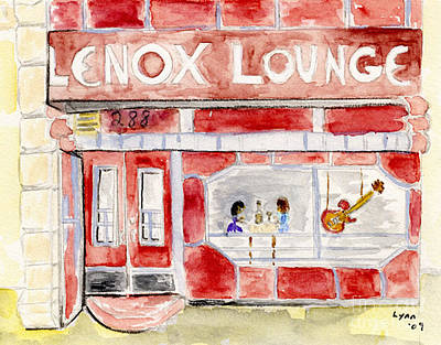 The Lenox Lounge Art Print