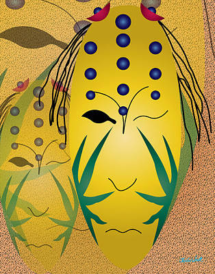 Beat It Digital Art - The Living Seed by Charles Smith
