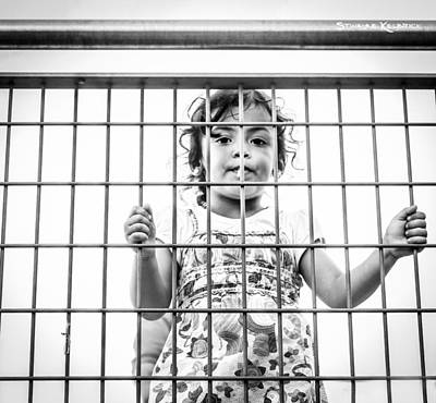Photograph - The Locked Little Girl by Stwayne Keubrick