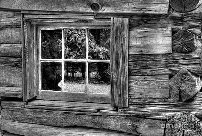 Log Home Photograph - The Lodge 2 by Michael Eingle