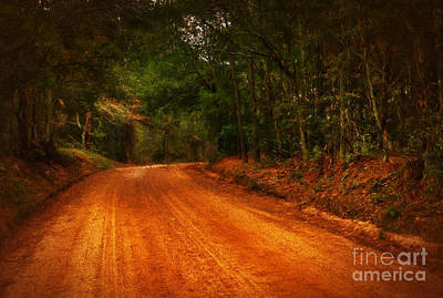 The Long And Winding Road Art Print by Dave Bosse