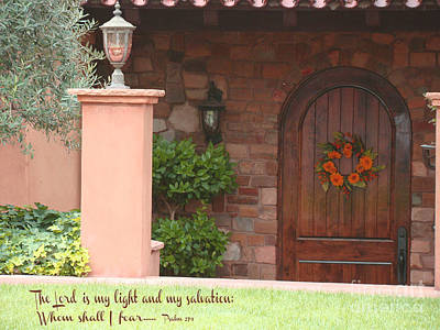 The Lord Is My Light Art Print by Beverly Guilliams