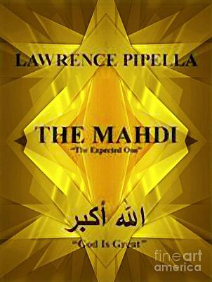 Digital Art - The Mahdi The Expected One by Steven  Pipella