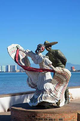 Malecon Photograph - The Malecon, Puerto Vallarta, Jalisco by Douglas Peebles