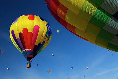 Fiesta Photograph - The Mass Ascension At The Albuquerque by Maresa Pryor