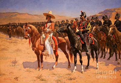 Painting - The Mexican General by Pg Reproductions